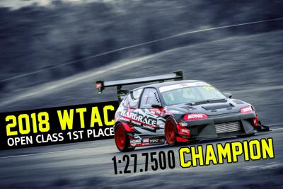 World Time Attack 2018 Open Class Champion!.